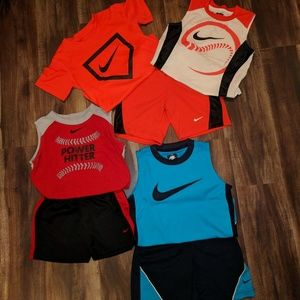 Nike Shorts and Shirts Outfit